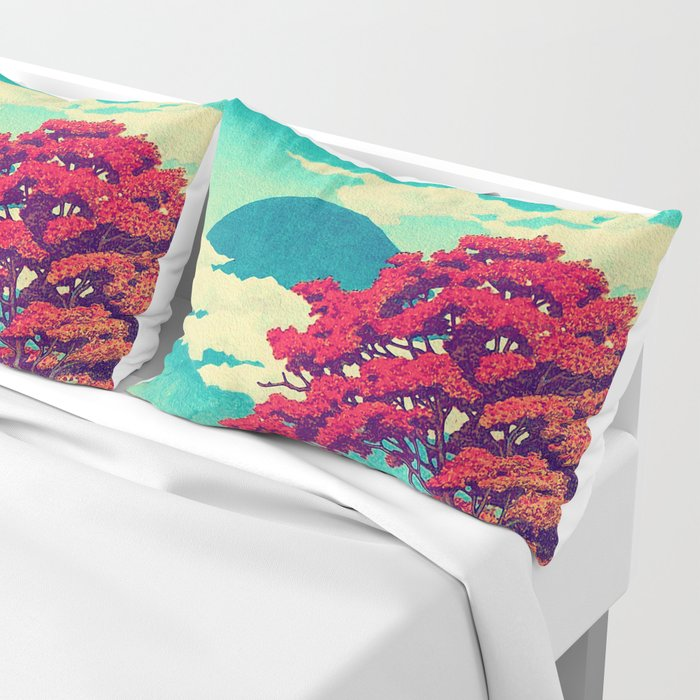 The New Year in Hisseii Pillow Sham