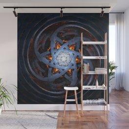 Hexagram Wall Mural