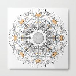 Pacific Mandala Metal Print