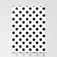 polka Stationery Cards featuring • • • polka by MONMONDERNDELLA