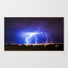 Chasing Storms Canvas Print