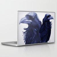 raven Laptop & iPad Skins featuring .Raven by Isaiah K. Stephens