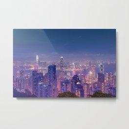Hong Kong View V Metal Print