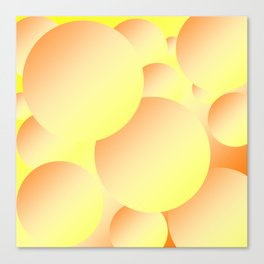 Sunny Bubbles Canvas Print