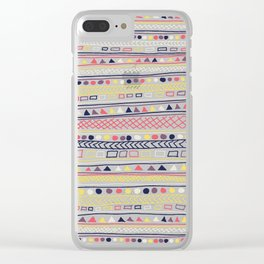 Undefined 2 Clear iPhone Case