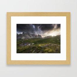 Freedom - French Alps Framed Art Print