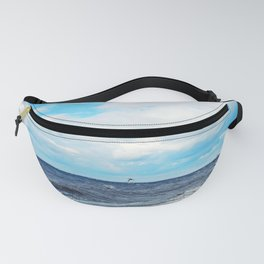 Flying Across the Beach Fanny Pack