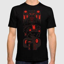 Haida tribal three animals T-shirt