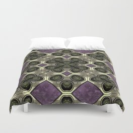 Victorian Art Deco Medieval Pattern SB41 Duvet Cover