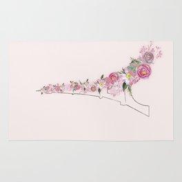 Paris in Flower Love Rug