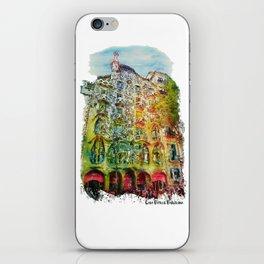 Casa Batllo Barcelona iPhone Skin
