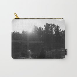 Sunset over Prince's Island Park Carry-All Pouch