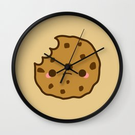 Cute yummy biscuit-cookie Wall Clock