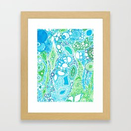 bubbly Framed Art Print