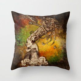 Magna-Mater II Throw Pillow