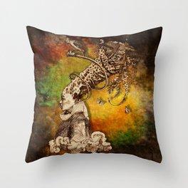 Magna-Mater II Throw Pillow