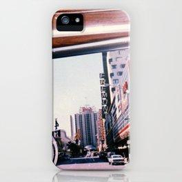 Riding into Vegas iPhone Case