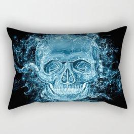 ghost skull Rectangular Pillow
