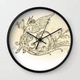 Renaissance Satyr Grotesque Wall Clock