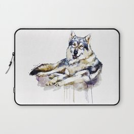 Smiling Wolf Laptop Sleeve