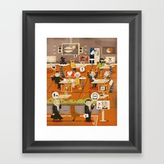 Kitchen Madness ... ( 2011 ) Framed Art Print
