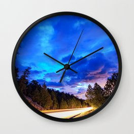 Colorado Highway 7 To Heaven Wall Clock