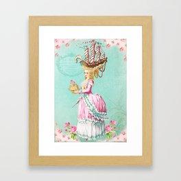 Marie Antoinette Liberté Framed Art Print