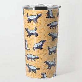 Honey Badger Don't Care Travel Mug
