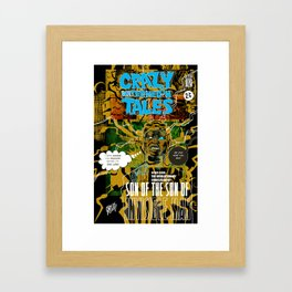 CRAZY WATERMELON TALES: INVISIBLE Framed Art Print