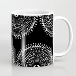 Music mandala no 2 - inverted Coffee Mug