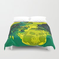 mad Duvet Covers featuring MAD SCIENCE! by BeastWreck