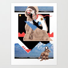 mascaraproveta Art Print