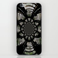 fractal iPhone & iPod Skins featuring Fractal by Aaron Carberry