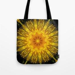 Golden Sun Disc Tote Bag