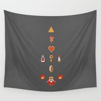 zelda Wall Tapestries featuring Zelda by avoid peril