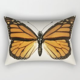 Monarch Butterfly | Monarch Butterflies | Moths and Butterflies of the United States | Vintage Butterflies |  Rectangular Pillow