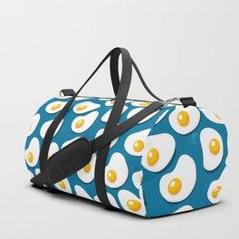 Fried eggs food pattern Duffle Bag