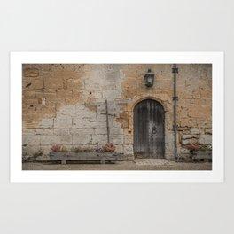 castle door... Art Print