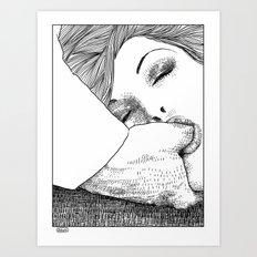 asc 28 - L'invitation Art Print