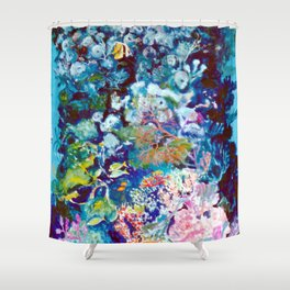 The Barrier Reef, AUSTRALIA               by Kay Lipton Shower Curtain
