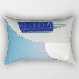 Santorini Blue & White Window Rectangular Pillow