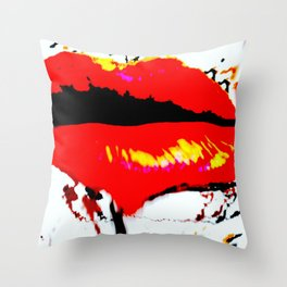 SICKENING Throw Pillow