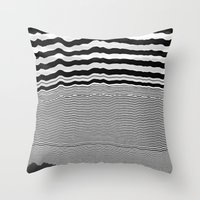 tchmo Throw Pillows featuring Untitled 20140630w by tchmo