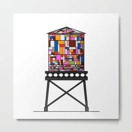 Watertower Metal Print