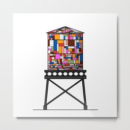 Watertower Metal Print