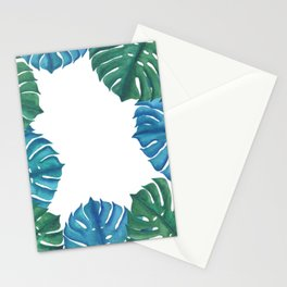 Beneath the Monsteras - by Rachel Whitehurst Stationery Cards