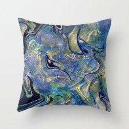 Bora Bora Throw Pillow