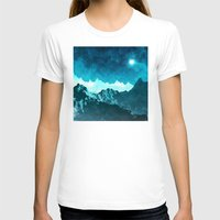 outer space T-shirts featuring Outer Space Mountains by Phil Perkins