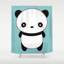 Kawaii Cute Panda Shower Curtain