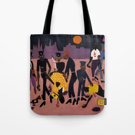 African American Masterpiece 'Moon Over Harlem' by William Henry Johnson Tote Bag